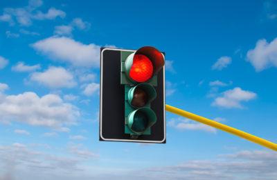 red light ticket