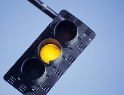 What to Do at a Flashing Yellow Light